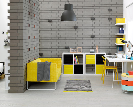 A teenager's room in a modern arrangement